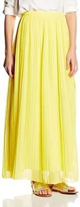 BOSS Orange Women's Beflowy Pleated Full-Length Maxi Skirt,(Manufacturer Size: 42)