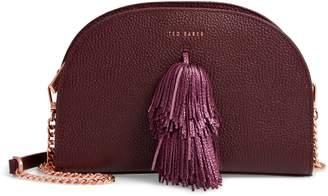 Ted Baker Pom Leather Crossbody Bag
