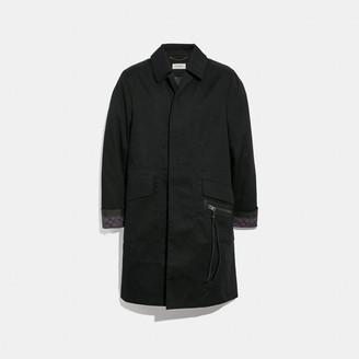 Coach Signature Overcoat
