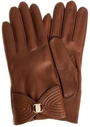 Salvatore Ferragamo Leather Gloves