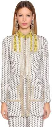 Etro Printed Silk Twill Jacket