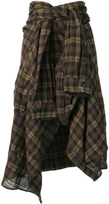 Faith Connexion high-waisted shirt-skirt