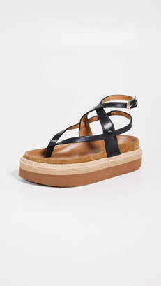 Isabel Marant Esely Platform Sandals