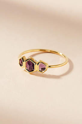 Anthropologie Honeycomb Ring