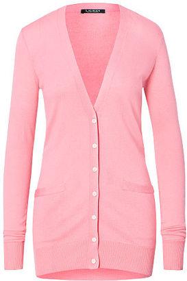 Ralph Lauren Cotton-Blend Cardigan $99.50 thestylecure.com