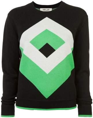 Diane von Furstenberg graphic design jumper