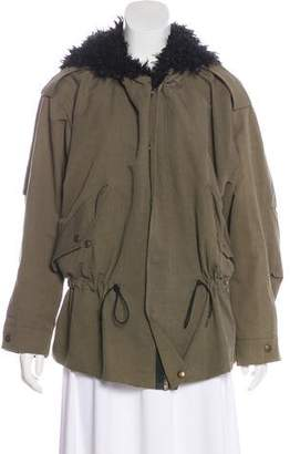 Smythe Knee-Length Parka Coat