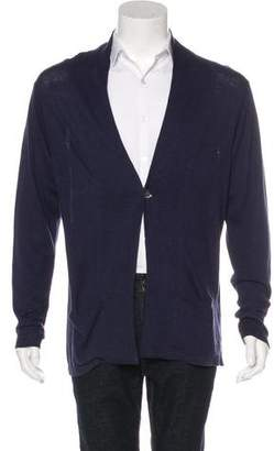 Gant Linen-Blend Shawl Neck Cardigan w/ Tags