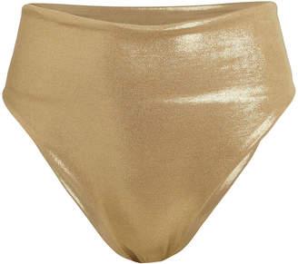 Sara Cristina Marina High-Waist Bikini Bottoms