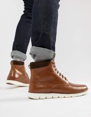 KG by Kurt Geiger KG Kurt Geiger Gregory Hybrid Sole Leather Cuff Boots