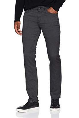 BOSS Athleisure Men's Delaware Ba-c Straight Jeans, (Black 005), W32/L32