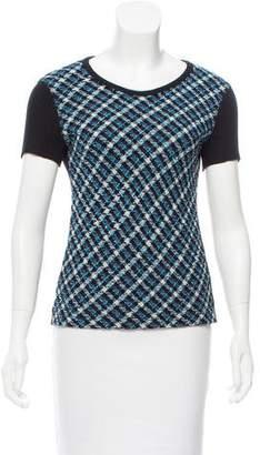 Sonia Rykiel Patterned Short Sleeve Top