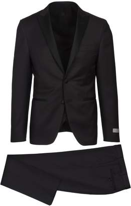 Canali Peak Lapel Suit