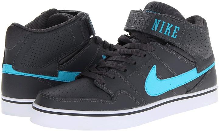 Nike SB - Mogan Mid 2 SE (Dark Grey/Gamma Blue) - Footwear