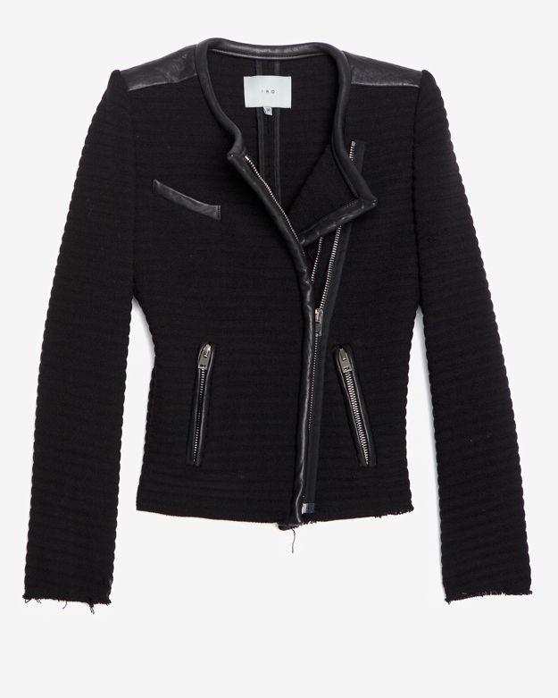 IRO Exclusive Maiden Leather Detail Jacket