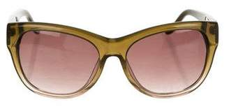 Just Cavalli Square Glitter Sunglasses