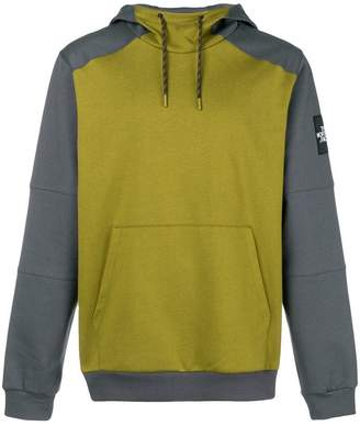 The North Face logo colour block sweatshirt