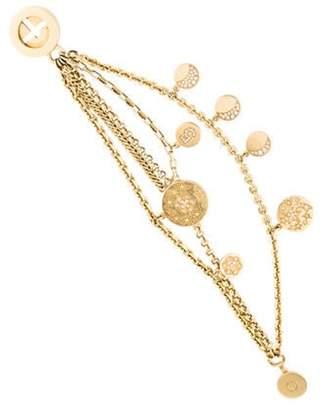 Chanel 18K Diamond Comà ̈te Charm Bracelet yellow 18K Diamond Comà ̈te Charm Bracelet