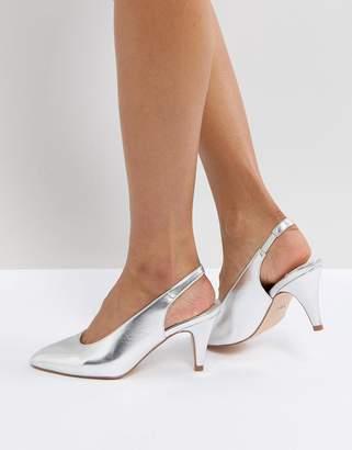 Faith Clarissa High Vamp Heeled Shoes