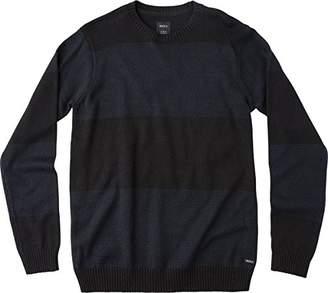 RVCA Men's Channels Crewneck Sweatshirt