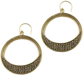 Artsmith BY BARSE Art Smith by BARSE Textured Bronze Hoop Earrings