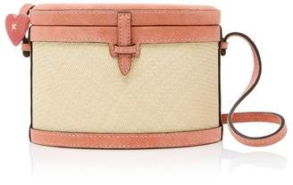 Mini Trunk Hunting Season Pink Suede Bag