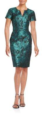 NUE by Shani Floral Sheath Dress