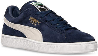 Puma Men Suede Classic+ Casual Sneakers from Finish Line