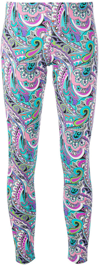 EtroEtro abstract print leggings