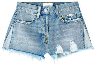 Current/Elliott The Ultra High Waist Denim Shorts
