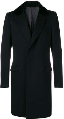 Dolce & Gabbana oversized mink fur collar coat