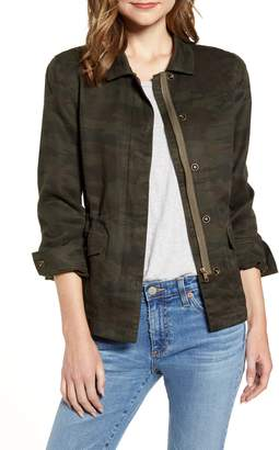 Sanctuary Rowen Drawstring Waist Military Jacket