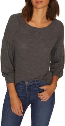 Sanctuary Blouson Sleeve Cozy Sweater