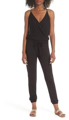 Elan International Surplice Cover-Up Jumpsuit