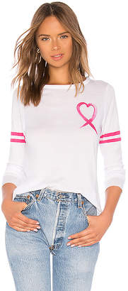Chaser Vintage Jersey Love Charity Long Sleeve Tee