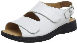 Ganter Women's Monica, Weite G Sandals White Size: 8