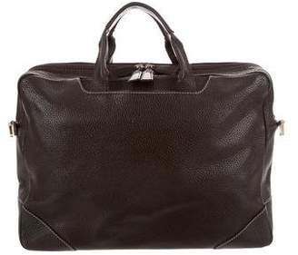 Dunhill Textured Leather Briefcase