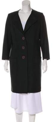 Theyskens' Theory Wool Knee-Length Coat