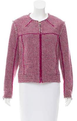 Chloé Wool-Blend Tweed Jacket w/ Tags