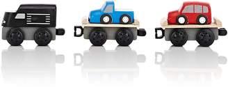 Plan Toys WOODEN CAR CARRIER TRAIN