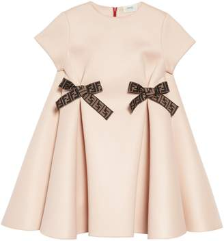 Fendi Bow Detail Dress