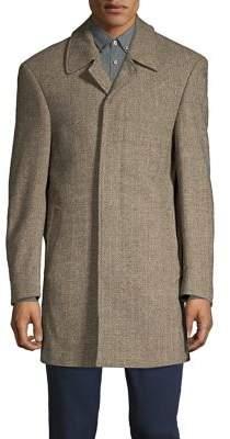 Lauren Ralph Lauren Herringbone Wool-Blend Jacket