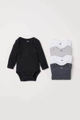 H&M 5-pack Bodysuits - Black