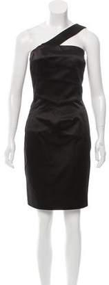 Michael Kors One-Shoulder Knee-Length Dress
