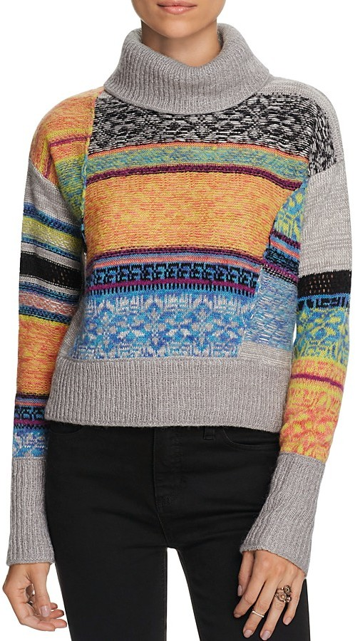 Free People This And That Striped Sweater