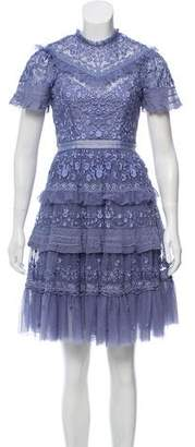 Needle & Thread Lace and Floral Dress