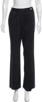 Michael Kors Pinstripe Wide-Leg Pants