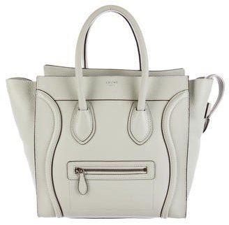 Céline Medium Luggage Tote $1,395 thestylecure.com