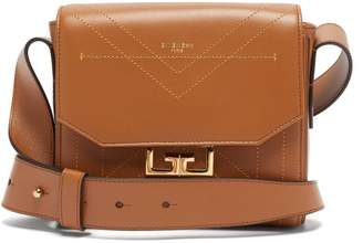 Givenchy Eden Small Leather Shoulder Bag - Womens - Brown