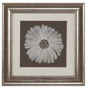 Harbor House 'Bloom Decorative Embroidery Flower' Framed Graphic Art Print